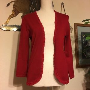 Shape FX ribbon detail jacket NWT S